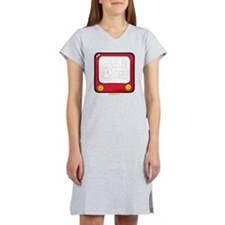 Etch a nice day Smiley Women's Nightshirt
