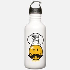 Head Chef Smiley Water Bottle