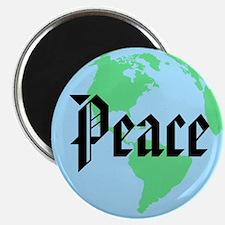 "Peace Globe 2.25"" Magnet (10 pack)"