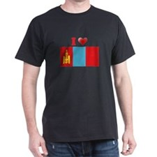 I love Mongolia Flag T-Shirt