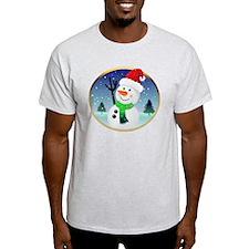 Snowman Santa T-Shirt