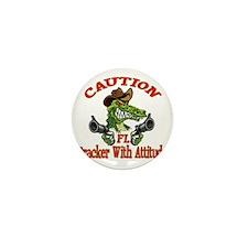 Florida Cracker With Attitude Mini Button