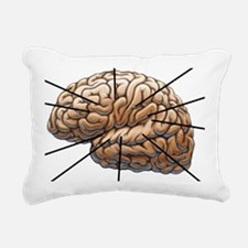 Atlas of a Plumbers Brai Rectangular Canvas Pillow