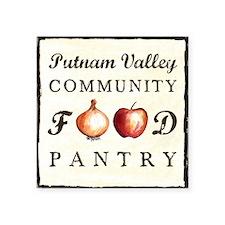 "Putnam Valley Community Foo Square Sticker 3"" x 3"""