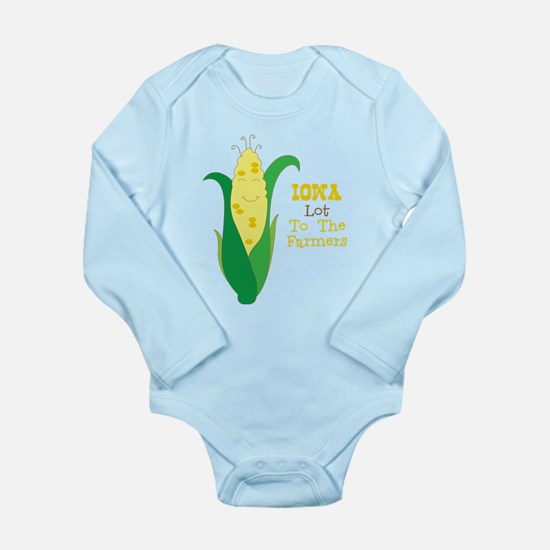Iown Lot To The Farmers Body Suit