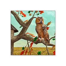 Autumn Owl Sticker