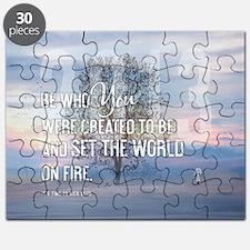 2013 January Calendar Quotes + Art Puzzle