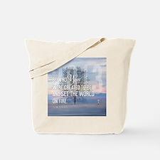 2013 January Calendar Quotes + Art Tote Bag