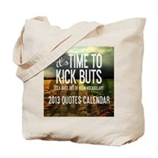 2013 Calendar Quotes + Art Tote Bag