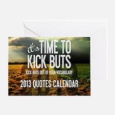 2013 Calendar Quotes + Art Greeting Card
