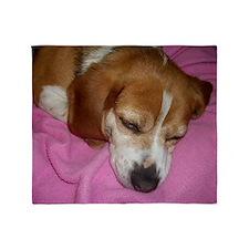 Dog Nap! Throw Blanket