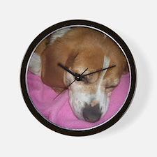 Dog Nap! Wall Clock