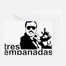 3 Empanadas Greeting Card