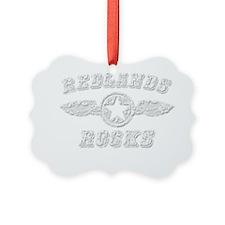 REDLANDS ROCKS Ornament