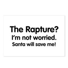 The Rapture? Santa will save me! Postcards (Packag