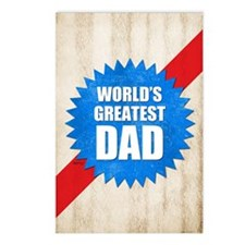 Worlds Greatest Dad Postcards (Package of 8)