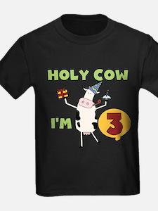 Holy Cow 3rd Birthday T-Shirt