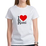 I Love Rumi Women's T-Shirt