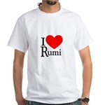 I Love Rumi White T-Shirt