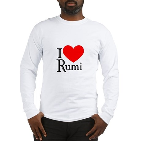 I Love Rumi Long Sleeve T-Shirt