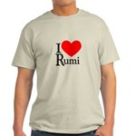 I Love Rumi Light T-Shirt