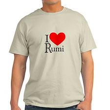 I Love Rumi T-Shirt