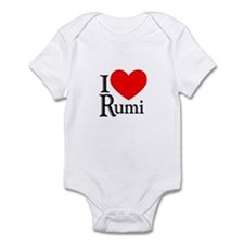 I Love Rumi Infant Bodysuit