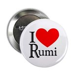 I Love Rumi Button