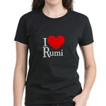 I Love Rumi Women's Dark T-Shirt