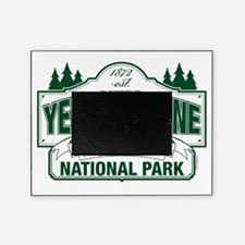 Yellowstone National Park Green Sign Picture Frame