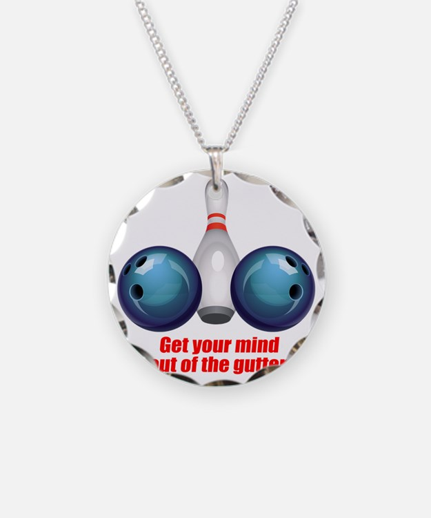 Get your Mind out of the Gut Necklace