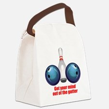 Get your Mind out of the Gutter ( Canvas Lunch Bag