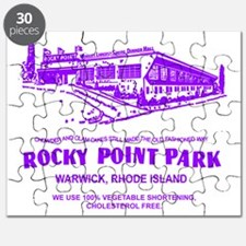Shore Dinner Hall Clam Cake Bag Purple Puzzle