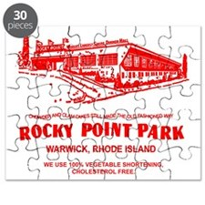 Shore Dinner Hall Clam Cake Bag Red Puzzle