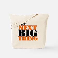 The Next Big Thing (orange Tote Bag