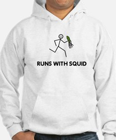 Funny Runs with scissors Hoodie