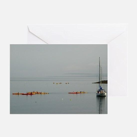 Bar Harbor Kayaks Greeting Cards (Pk of 10)