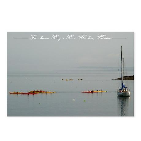Bar Harbor Kayaks Postcards (Package of 8)