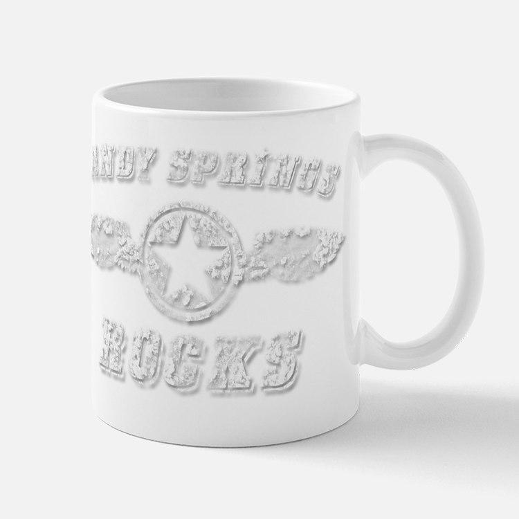 SANDY SPRINGS ROCKS Mug