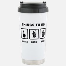 Double-Bass-Player-ABH1 Stainless Steel Travel Mug
