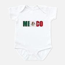 Mexico Infant Bodysuit