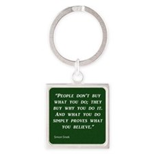 stacy Square Keychain