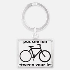 bike Landscape Keychain