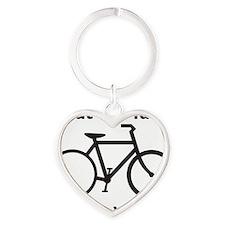 bike Heart Keychain