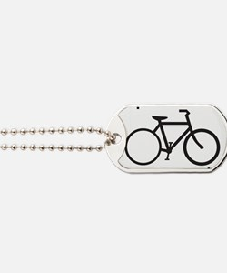 bike Dog Tags