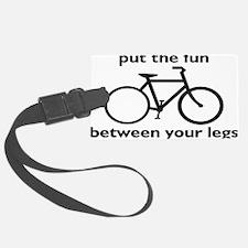 bikerectangle Luggage Tag