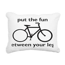 bikerectangle Rectangular Canvas Pillow