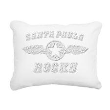 SANTA PAULA ROCKS Rectangular Canvas Pillow