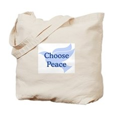 Choose Peace Tote Bag