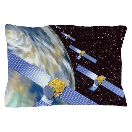 Communication satellites Pillow Case